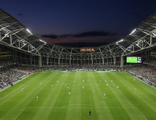 Aviva Stadium Sportslighting, Dublin 4